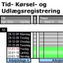 Tid- og Krselsregistrering MEDAEX 12 Licens